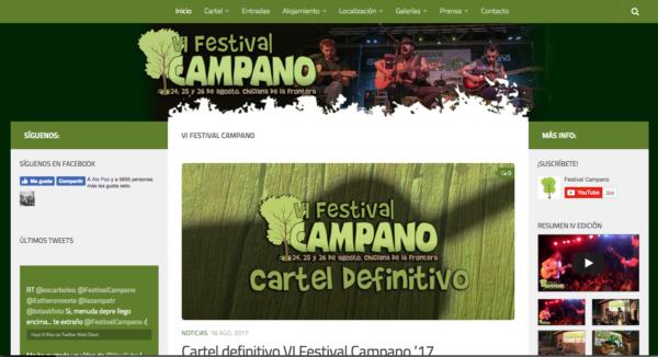 Web Festival Campano