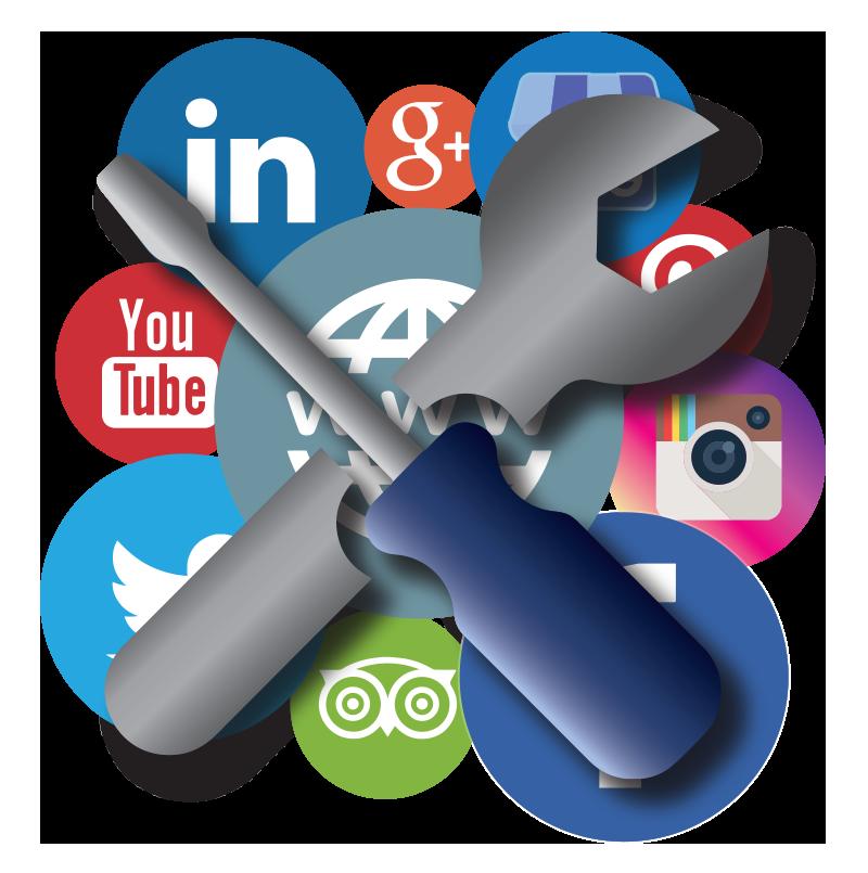 Configuración de redes sociales