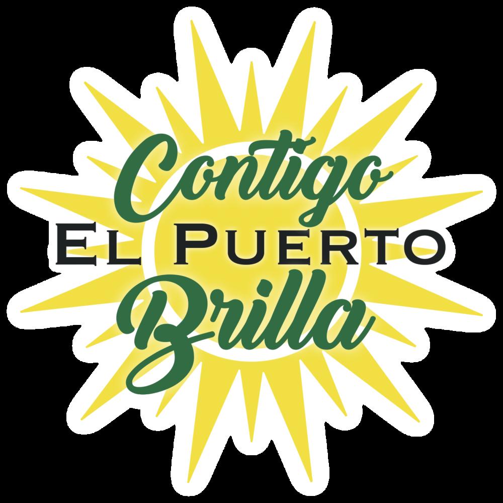 logo Contigo El Puerto Brilla