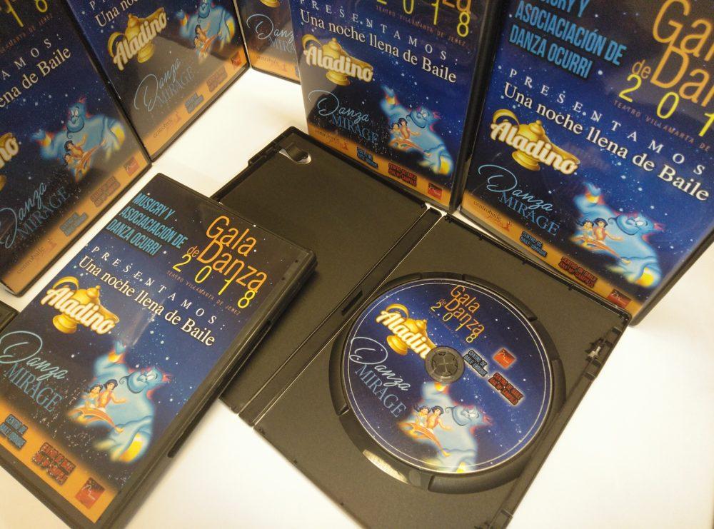 DVDs centro baile Jerez Aladino