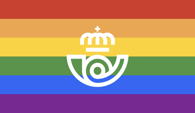 renovación Correos arcoíris